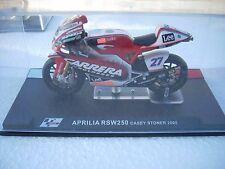 MOTO APRILIA RSW250 CASEY STONER 2005  SCALA 124