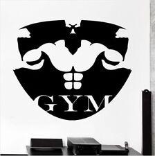 Bodybuilding Gym Fitness Wandtattoo Wallpaper Wand Schmuck 58 x 76 cm Wand