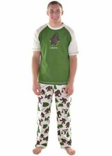 "Lazy One - Men's PJ Set - ""I Believe"" Bigfoot - Small"