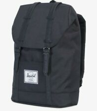 NEW Herschel Retreat Backpack book bag - Black - new with tags - Retail $89