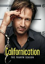 CALIFORNICATION COMPLETE FOURTH SEASON SERIES 4 DVD 2 DISC BOXSET DAVID DUCHOVNY