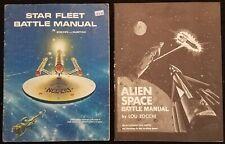 Lou Zocchi - 1975 - Alien Space Battle Manual + Star Trek RPG Star Fleet Manual