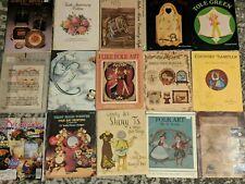 Lot of 15 decorative tole painting craft pattern instruction books - Jo Sonja