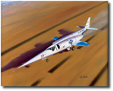 Lakebed Liftoff (A/P) by Mike Machat - Douglas X-3 Stiletto- Pete Everest Jr.