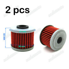 2x Oil Filter For Honda CRF450R CRF450X CRF250R CRF250X CRF 150R 150F Dirt Bike