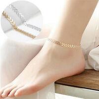 Boho Women Sexy Barefoot Arrow Ankle Chain Anklet Bracelet Beach Foot Jewelry ov