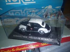 IXO ALTAYA 1/43 RENAULT 4CV POLICE DE MONACO NEUF EN BOITE