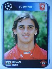 Panini 70 Bryan Ruiz Twente Enschede UEFA CL 2010/11
