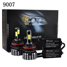 120W 12800lm 4 Sides COB LED Headlight Kits 9007 HB5 High Low Beam 6000K Bulb SZ