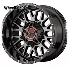 20 x9 inch gloss black grey XD Snare 842 wheels fits Ford F250 F350 8x170 +18