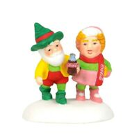 Have a Coke and a Smile Dept 56 North Pole Village 6002294 Christmas snow A