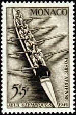"MONACO STAMP TIMBRE POSTE AERIENNE N° 32 "" JO LONDRES 5F+5F AVIRON "" NEUFxx LUXE"