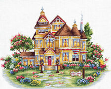 "Counted Cross Stitch Kit MAKE YOUR OWN HANDS W-19 - ""Welcome"""