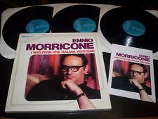 "Ennio Morricone ""L'Album Di Ennio Morricone -I Western/The Italian Western"" 3LP"