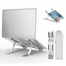 Aluminium Alloy Laptop Stand Tablet Holder For MacBook Pro Air Notebook Foldable