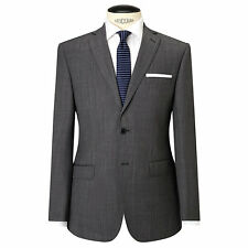Daniel Hechter Pindot Tailored Suit Jacket, Grey - UK Size 42R RRP £180 - BNWT
