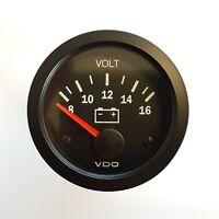 VDO Voltmeter Spannungsanzeige