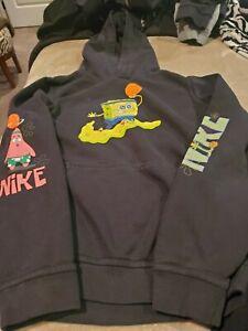 Kids large nike spongebob sweatshirt