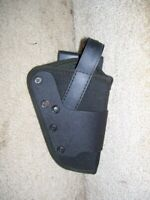 """NEW Uncle Mikes Dual Retention Duty Holster 9852-1 size 2 R/H for 3-4"""" Revolvers"""