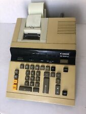 Canon Cp-1008D Printing Calculator Tested