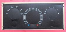 FERRARI 456 M -  HEATING/VENTILATION OVERLAY-DEGREES C- CENTIGRADE-BLACK