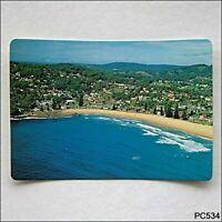 The Central Coast NSW Aerial view of Avoca Beach MV Postcard (P534)