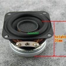 "2pcs 1.5""inch 40mm 10W 4Ω full-range speaker 4ohm bluetooth loudspeaker"