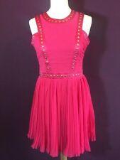 NEW Lipsy pink studded sleeveless Dress UK size 12 or M RRP £65