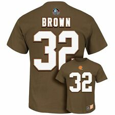 NEW Mens Cleveland Browns T-shirt Tee M Medium #32 Jim Brown NFL SHIPS FREE