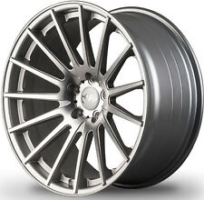 "20"" MIRO 110 SILVER CONCAVE WHEELS FOR INFINITI G35 COUPE STAGGERED RIMS SET (4)"