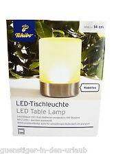 TCM Tchibo LED Tischleuchte Tischleuchte Lampe Glas & Metall witterungsbeständig