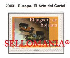 2003 EUROPA EUROPE JUGUETE HOJALATA TIN TOYS CARS COCHES  3982 ** MNH TC22101