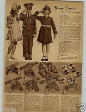 1942 PAPER AD Toy Holster Gene Autry Diamond Dick Pistol Rodeo Rancher Boat