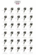 For Audi A6 Q A8 Q S4 RS4 DOHC Set of 30 Valve Cover Bolts Genuine 03G128773A