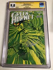 CGC 9.8 SS Green Hornet #1 Variant signed by Alex Ross & Mark Waid 2013