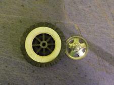 tonka ford jeep turbine truck 1 plastic tire 1 whitewall 1 triangle hub-cap for