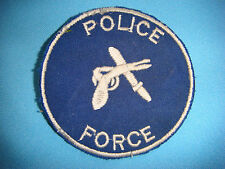 """PATCH USAF  """" POLICE FORCE """" PATCH"""