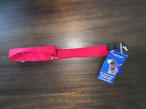 "NEW Premier Dog Collar - RED 1"" Nylon Martingale Style Lab Rottie Shepherd"
