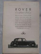 1946 Rover Original advert No.5