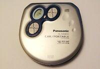 Panasonic SL-SX281C, CAR / PORTABLE CD Player, 40 Sec.Anti Skip System FREE SHIP