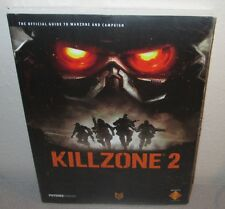 KILLZONE 2 SEALED NEW FuturePress Official Strategy Guide GuerrillaGames PS3 FPS