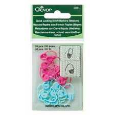 Clover ::Quick Locking Stitch Markers #3031:: Meduim