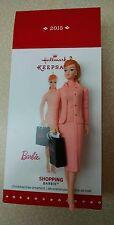 2015 Hallmark Keepsake - Shopping Barbie (Brand New In Box)