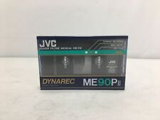 Vintage Original JVC Dynarec ME90PII Cassette Tape Blank Metal SEALED #6677