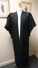 UK Academic Graduation Gown-Bachelor style BLACK--CLEARANCE