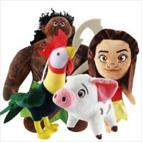 Moana Maui Heihei Pig Pua VAIANA Plüschtiere Plüschtier Stofftier Spielzeug 20cm