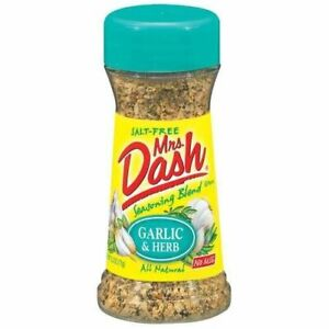 Mrs Dash Garlic & Herb Salt-Free Seasoning Blend