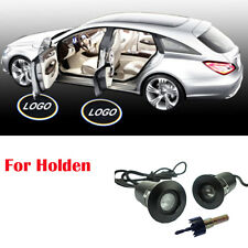 2Pairs For Holden Logo Vehicle Car Light Ground Puddle Shadow Door LED Projector