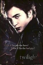 TWILIGHT ~ EDWARD BAD GUY 24x36 MOVIE POSTER Robert Pattinson NEW/ROLLED!