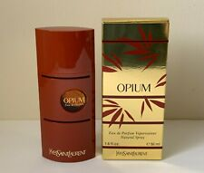 Vintage Yves Saint Laurent Opium 1.6 fl oz 50 ml Eau De Parfum Spray for Woman